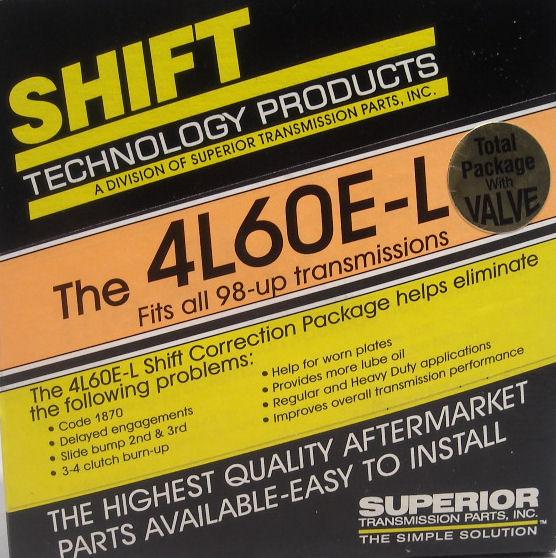 Superior K4l60e L V Superior Transmission Parts The Problem
