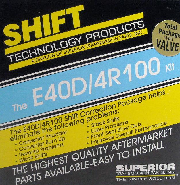 Superior KE4OD-V   Superior Transmission Parts - The problem